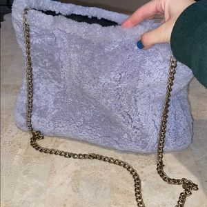 fuzzy crossbody bag from urban